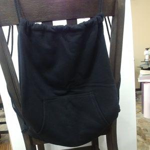 Handbags - Sweatshirt Cinch Sack/Bag